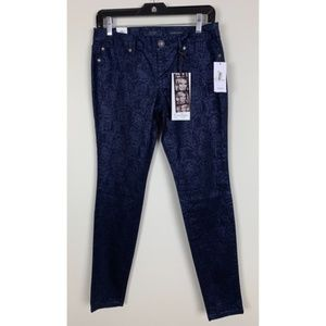 Jessica Simpson Kiss Me Skinny Jeans - Blue